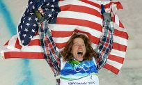 Shaun White at the Vancouver Olympics