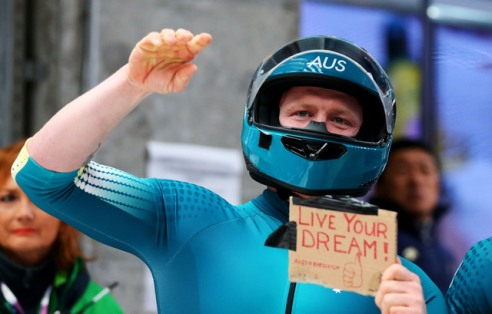 Aussie bobsleigh competitor Heath Spence tells it like it is