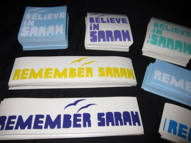 Stickerpack donated Believe in Sarah & Remember Sarah to help offset the cost of Sarah's medical bills.