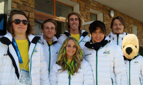Team Australia and Henry