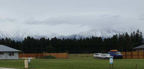 Mt Hutt on March 1. Photo: Amazing Space Methven Facebook
